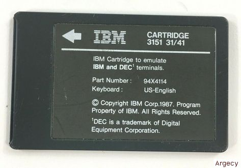 IBM 09F6151 - purchase from Argecy
