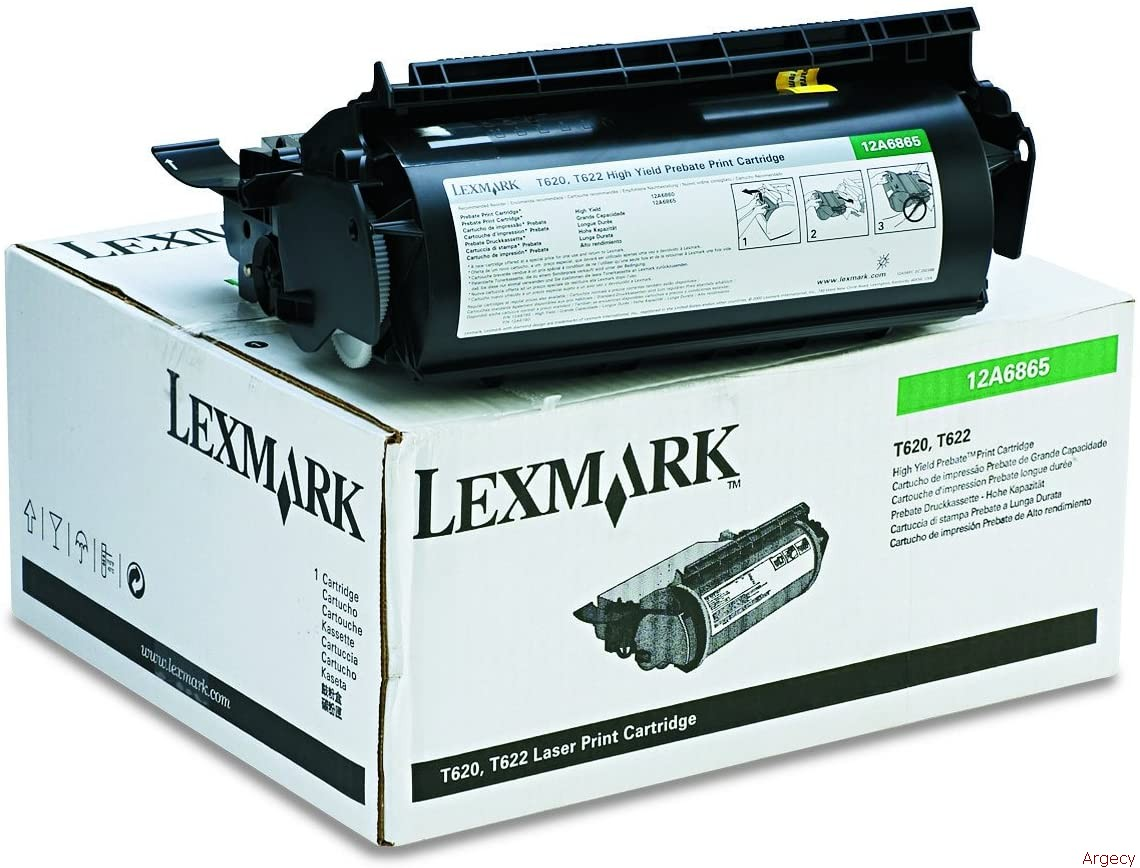 Lexmark 12a6869 30K Page yield (New) - purchase from Argecy