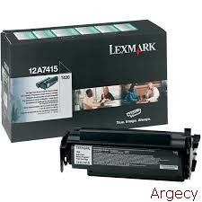 Lexmark 12a7415 10K Page yield (New) - purchase from Argecy