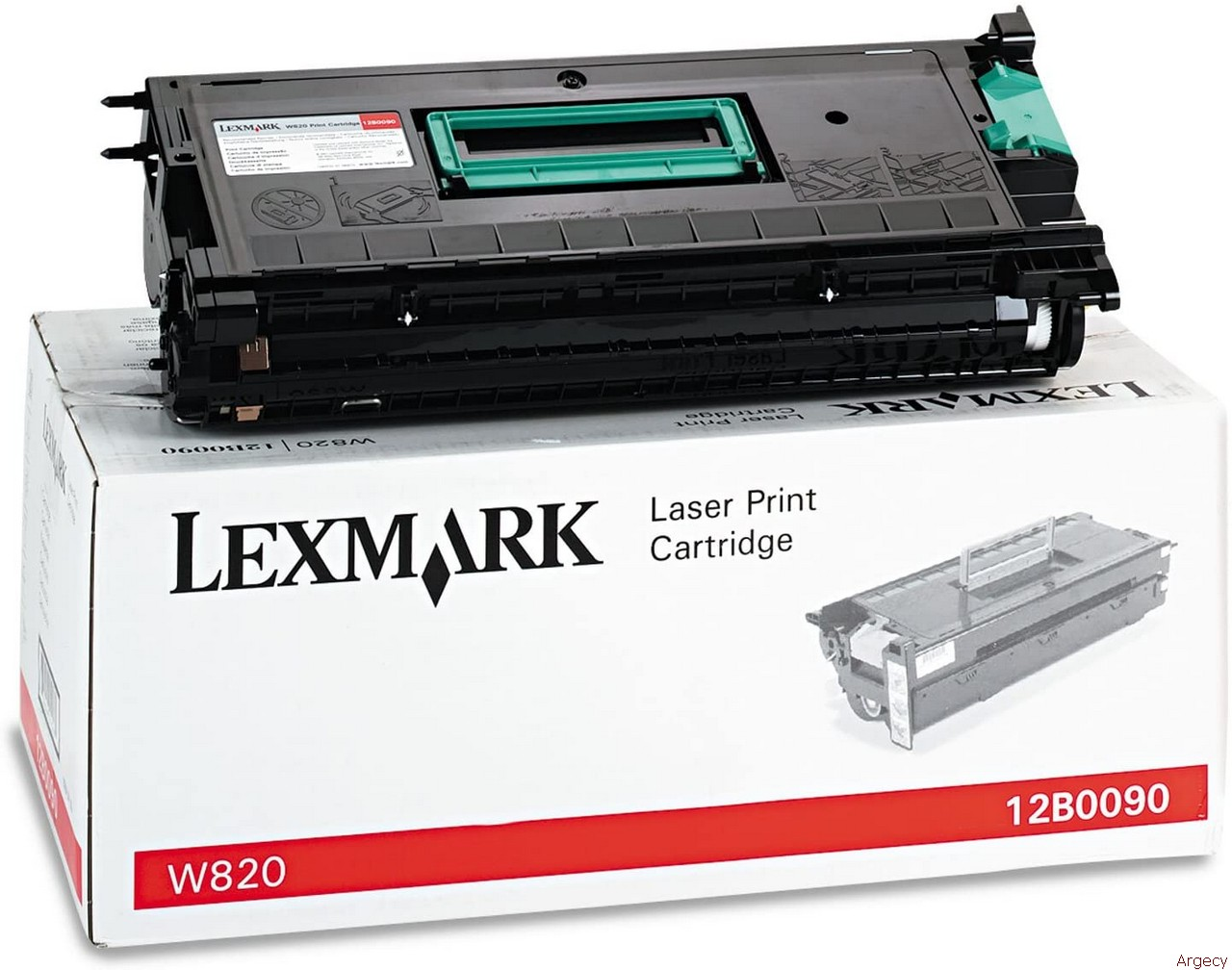 Lexmark 12b0090 30K Page Yield (New) - purchase from Argecy