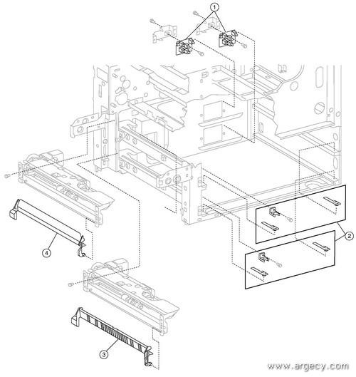 ibm infoprint 1540 1560 1580  4543  parts