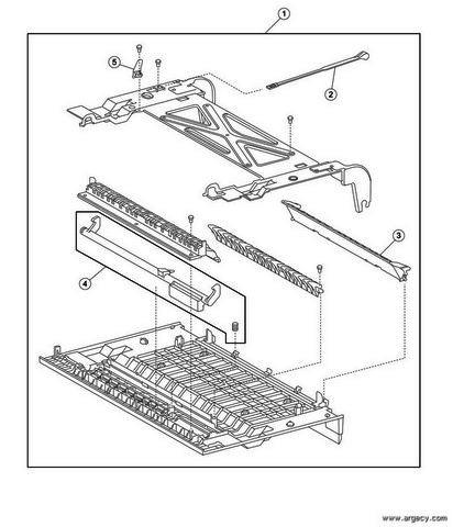 Lexmark W840 Parts