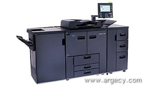 IBM 2790-001 With: 4500 Lg Paper Tray 1 Option; 4520 4450-Sheet High Capacity Feeder; 4610 100-Staple Finisher; 4620 2/3 Hole Punch Kit; 4820 PCL/Postscript; 4822 IPDS - purchase from Argecy