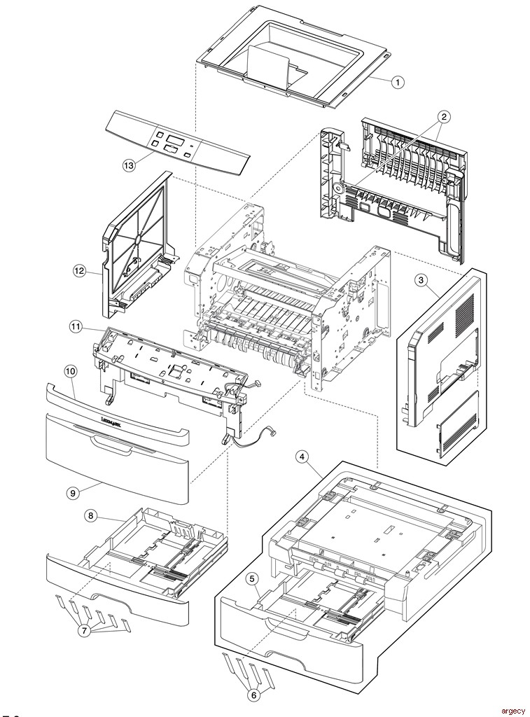 dell parts manual product user guide instruction u2022 rh testdpc co Dell 2335Dn Multifunction Laser Printer dell 2335dn parts catalog