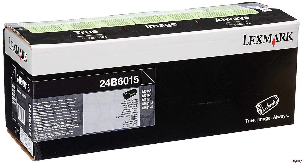 Lexmark 24B6015 35K Page Yield Compatible (New) - purchase from Argecy