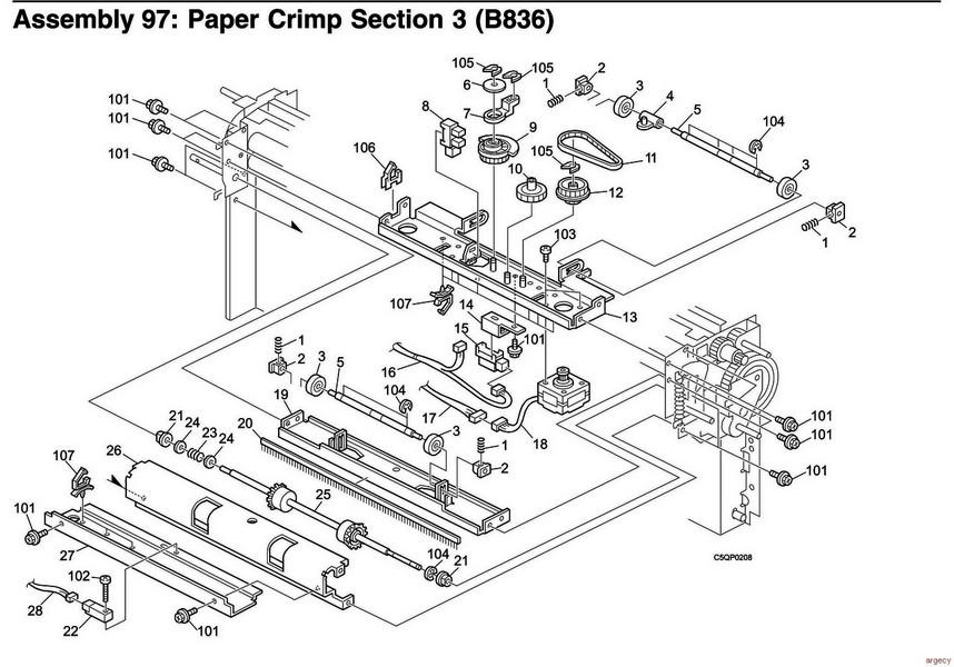 ibm infoprint 2190  u0026 2210  2707