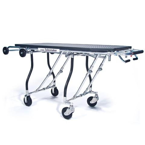 289 Easy Loader gurney style folding cart with 50 Inch platform and 300 pound load capacity