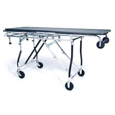 290 Heavy Duty gurney style folding cart with 65 Inch platform and 300lb capacity