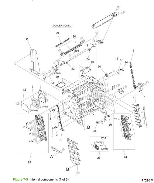 Hp 3600 Diagram