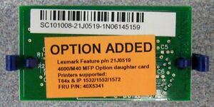 Lexmark 40X2585 40X4298 40X4680 40X4990 40X5341 (New) - purchase from Argecy