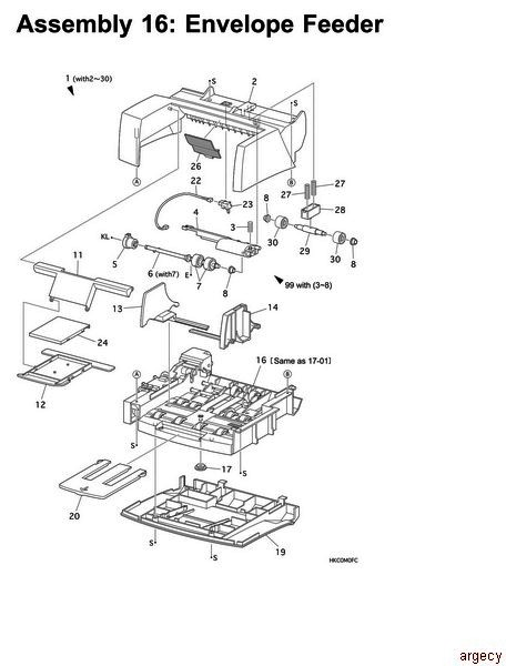 ibm infoprint 21 4322 parts