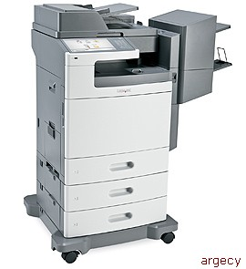 Lexmark X792dtme Multifunction Color Laser