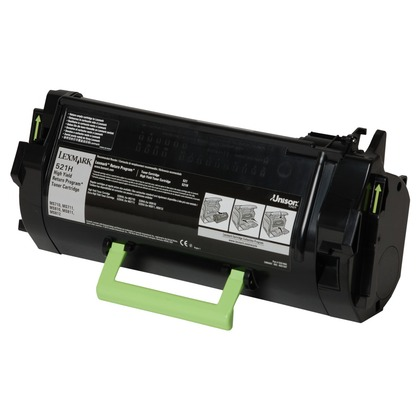 Lexmark 521H High Yield Toner Cartridge