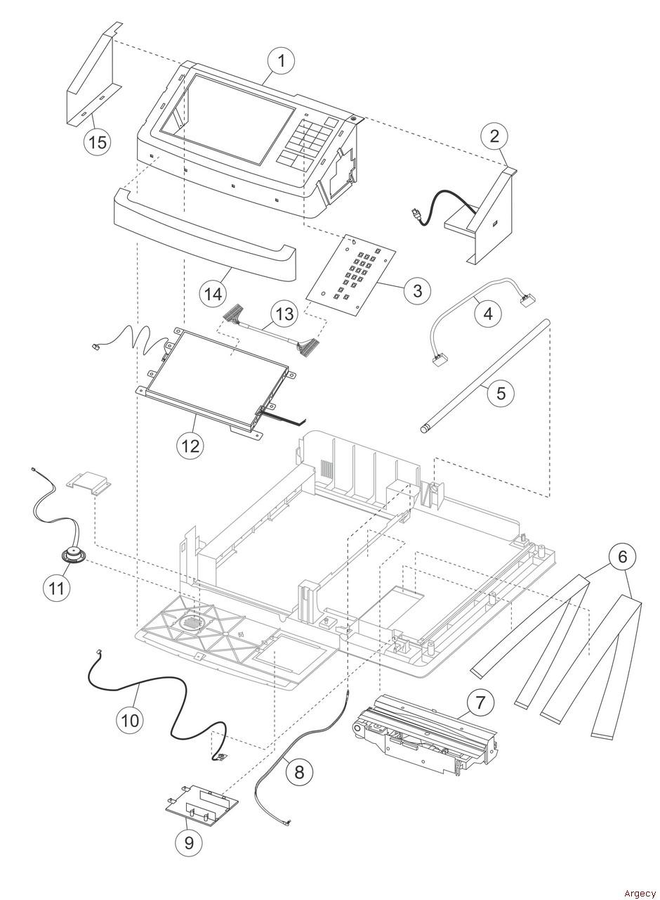 lexmark 4036 310 mx6500e scanner parts argecy rh argecy com Pet Scan Machine Cat Scan Machine