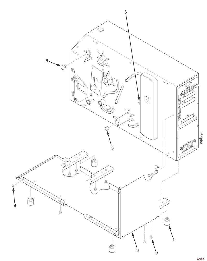 ibm infoprint 6700r parts