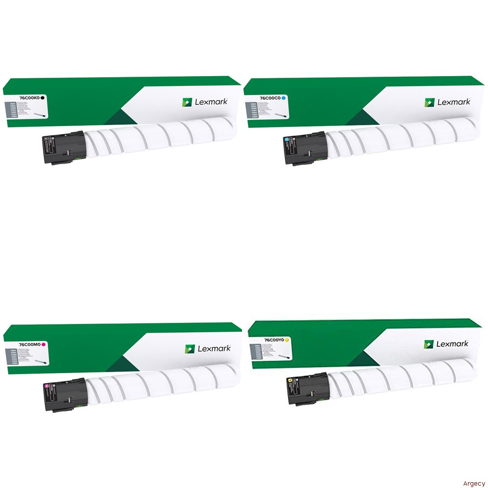 Lexmark 76C00K0 18500 Page Yield (New) - purchase from Argecy