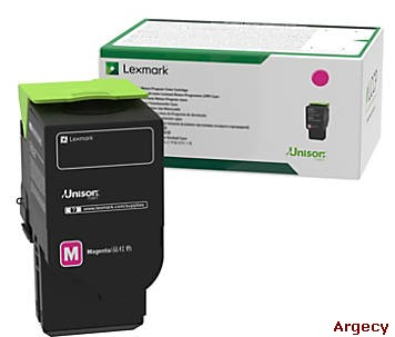 Lexmark 78C1XM0 5000 Page Yield  Compatible (New) - purchase from Argecy