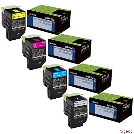 Lexmark 80C1HY0 3000 Page Yield (New) - purchase from Argecy