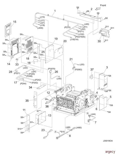 Oki B710 B720 B730 Mps730b Parts