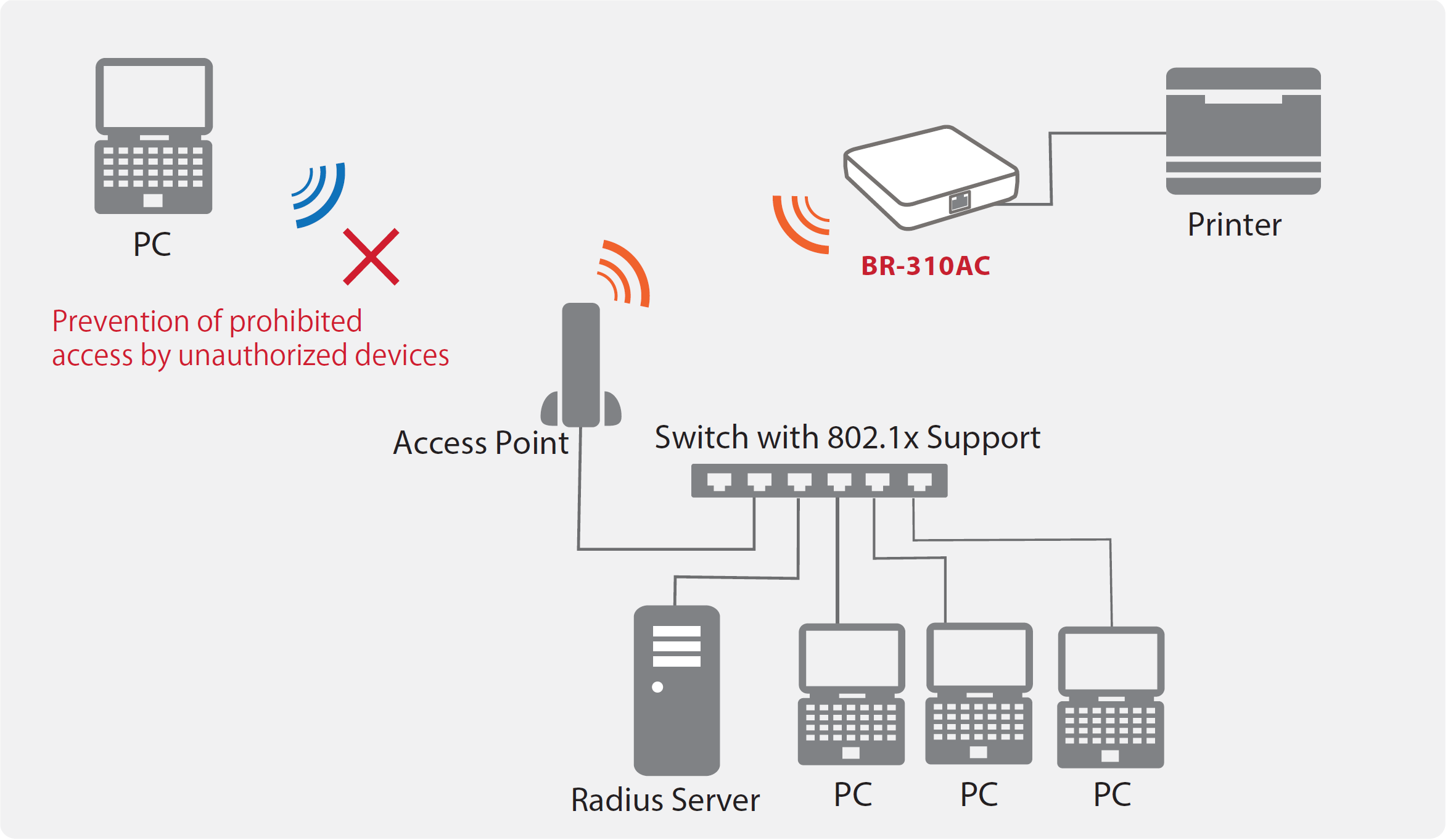 BR-310AC Enterprise Security Image