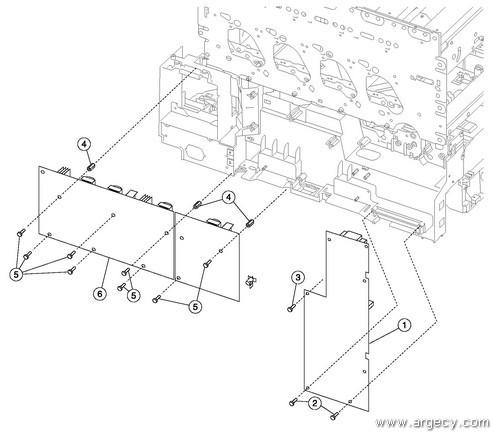 ibm infoprint 1354  4921  parts
