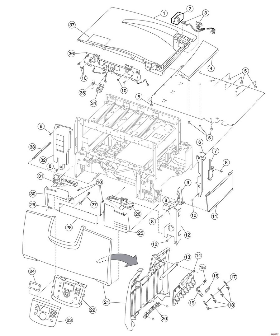 Lexmark-Printer: Parts for Printers, MFPs, and Scanners - Lexmark