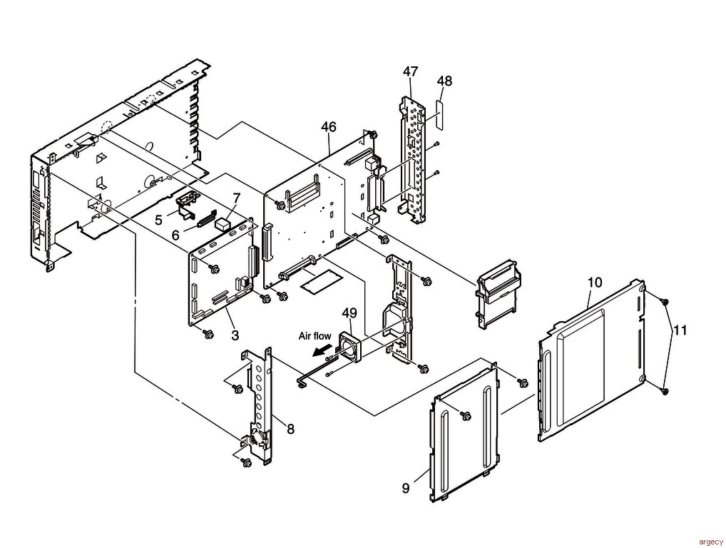 oki c9650 c9850 mps9650c c910 parts