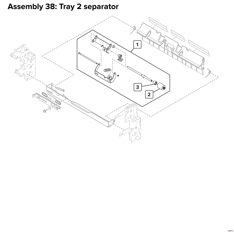 lexmark cs921 c9235 cs927 parts
