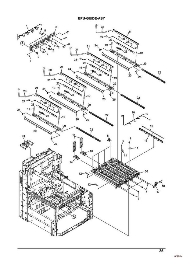 Oki Es9465 Es9475 Parts