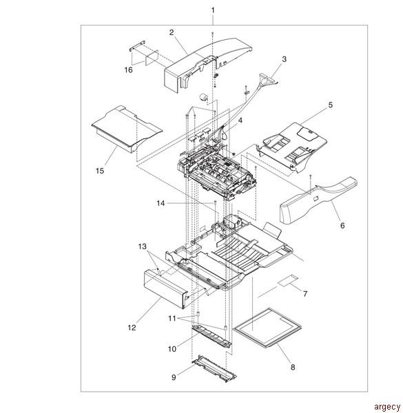 Hp 4345 Parts Argecy