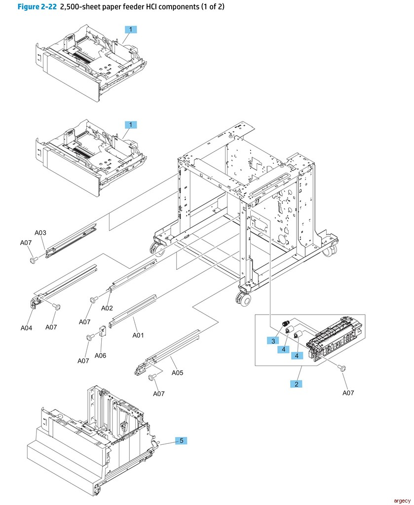 hp m651  u0026 m680 mfp parts