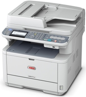 Oki MB491 Printer