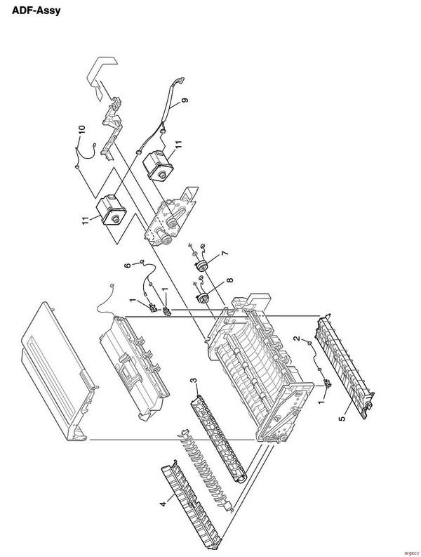 Oki ES8473 & MC873 Parts   Argecy