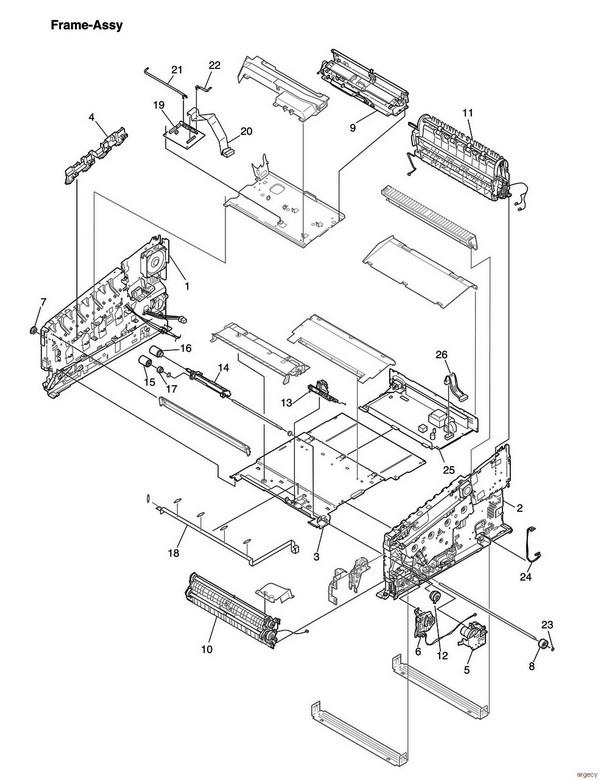 Oki Es8473 Mc873 Parts