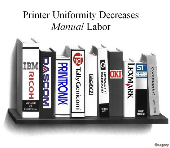 Printer Uniformity Decreases Manual Labor - Argecy
