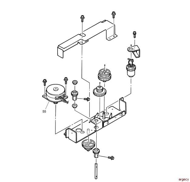 oki pm4410 parts
