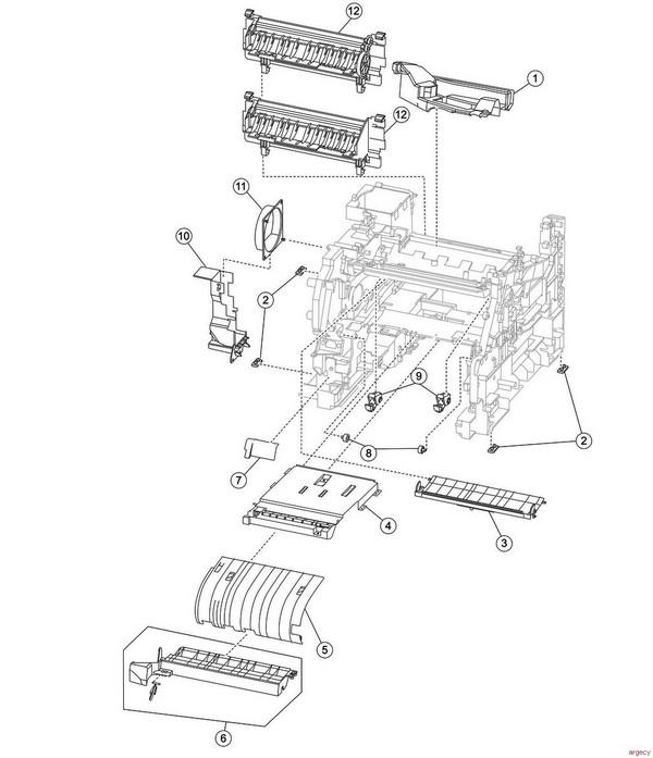 Lexmark T650 T652 T654 T656 Parts