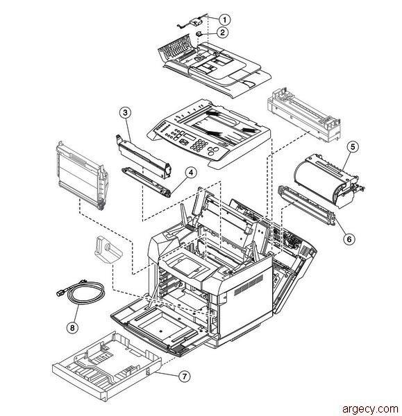 x500 parts diagram