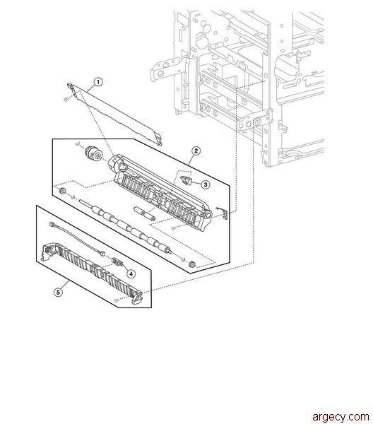 Lexmark X850e X852e X854e Parts