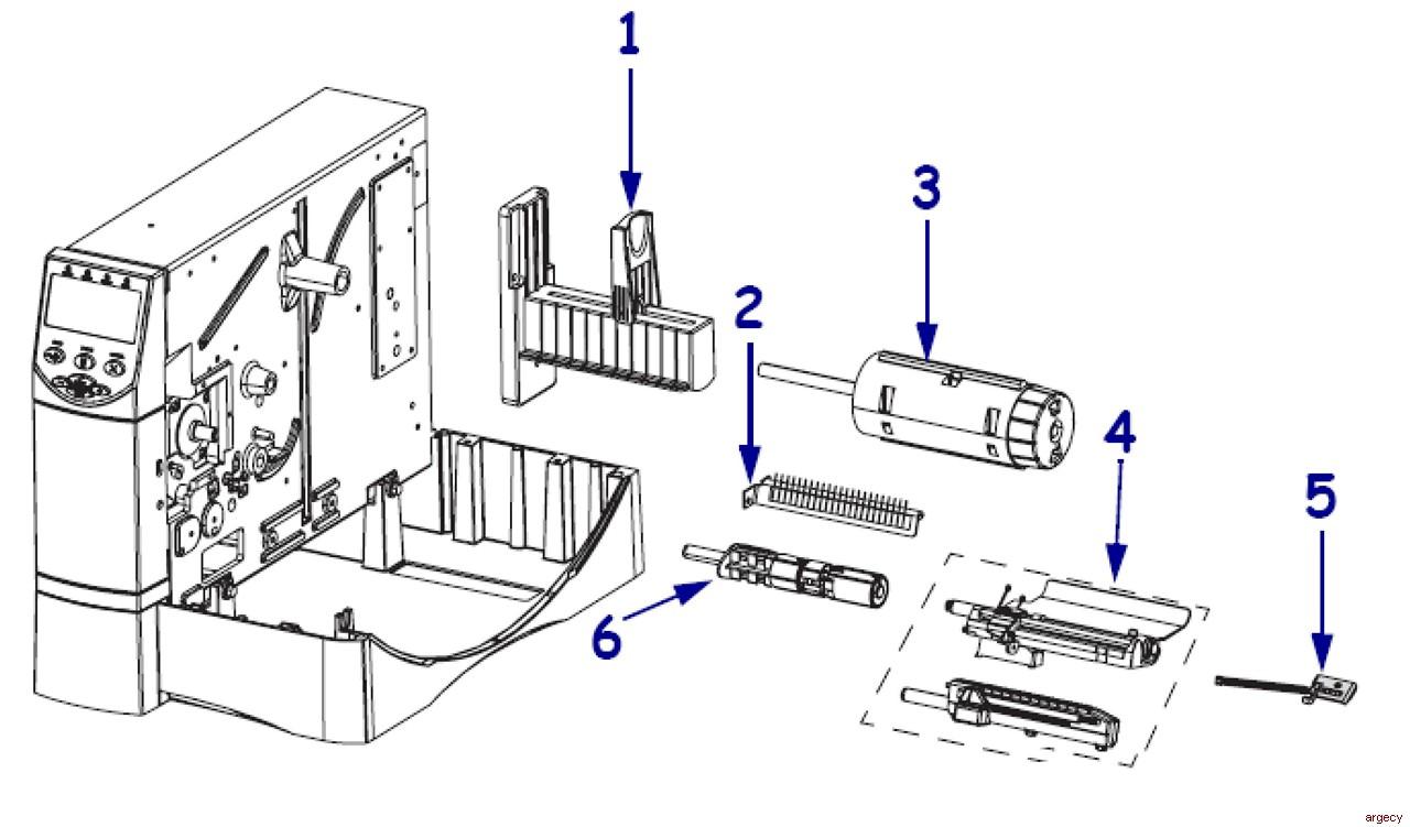 Zebra ZM400 & ZM600 Parts | Argecy