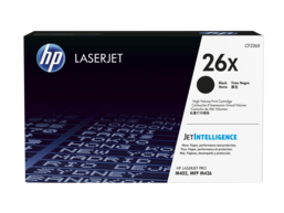HP 26X High Yield Black Original LaserJet Toner
