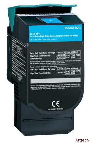 Lexmark C544X1CG 4K Page Yield (New) - purchase from Argecy