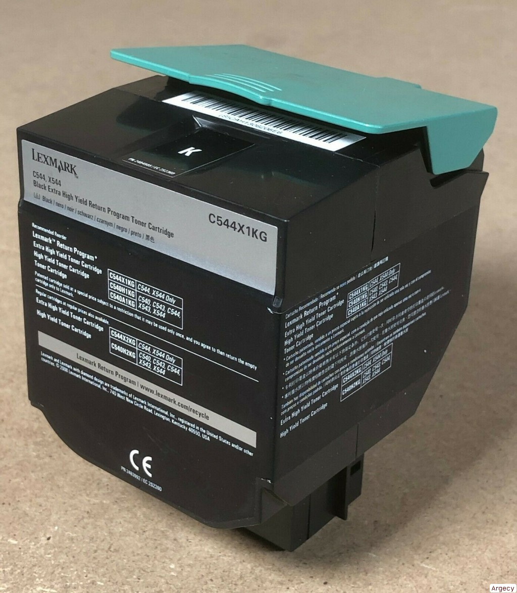 Lexmark C544X1KG C544X2KG C544X4KG 6K Page Yield Compatible (New) - purchase from Argecy