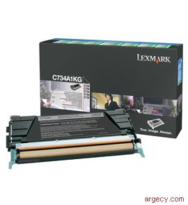 Lexmark C734A1KG 8K Page Yield (New) - purchase from Argecy