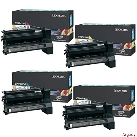 Lexmark C780A1YG  6K Page Yield (New) - purchase from Argecy