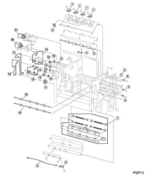 Ibm Infoprint 1759 1767 1769 39v2288 Finisher Parts