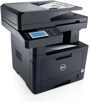 Dell Mono Multifunction Printer | B2375dfw - Print, scan and share with confidence.