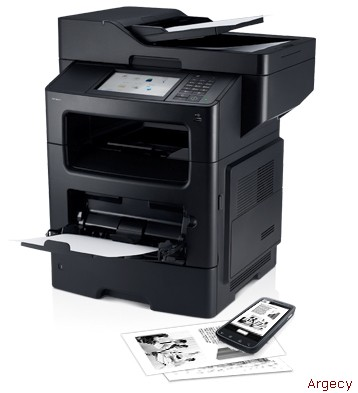 Dell B3465dnf Mono Laser Multifunction Printer - Efficient document management with expandable options