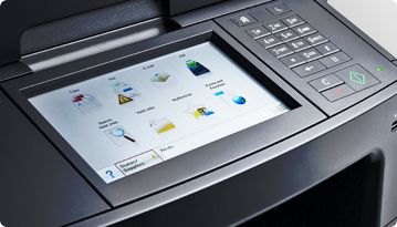 Dell B3465dnf Mono Laser Multifunction Printer - Intuitive design and controls