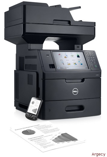 Dell B5465dnf Multifunction Laser Printer - Highly efficient productivity features